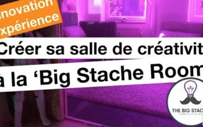 La salle de créativité Big Stache Room