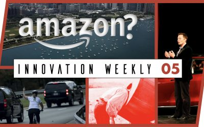 Innovation Weekly 05 – Amazon, Tesla et anti-tendance
