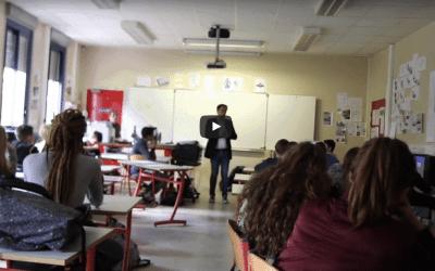 Discussion sur le talent et l'originalité avec une classe de 3eme