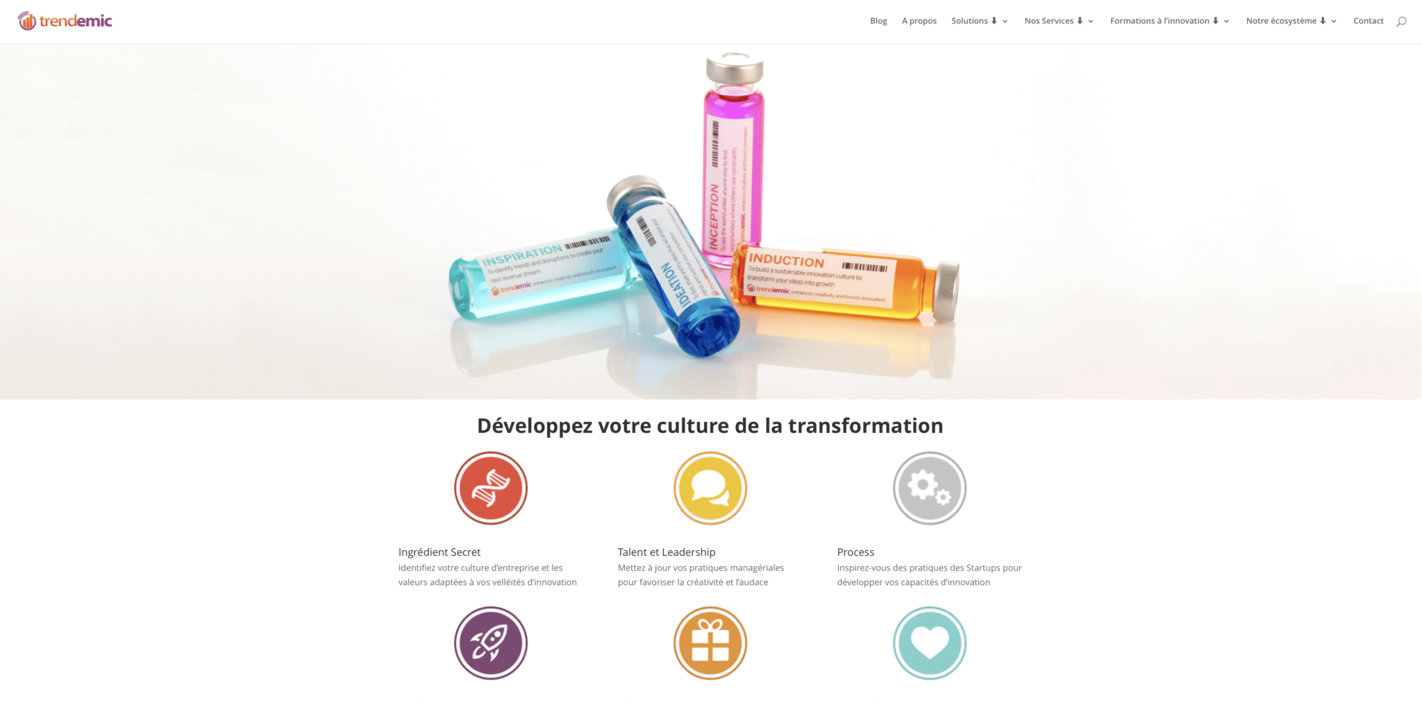 benjamin chaminade culture transformation