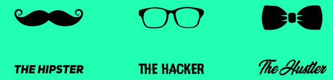 hacker hipster hustler