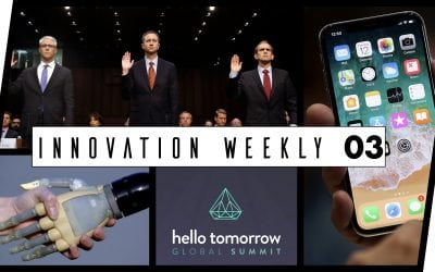 Innovation Weekly 03 – Apple, Hello tomorrow, Iphone X et augmentation