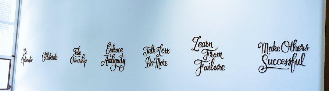 valeurs Ideo design