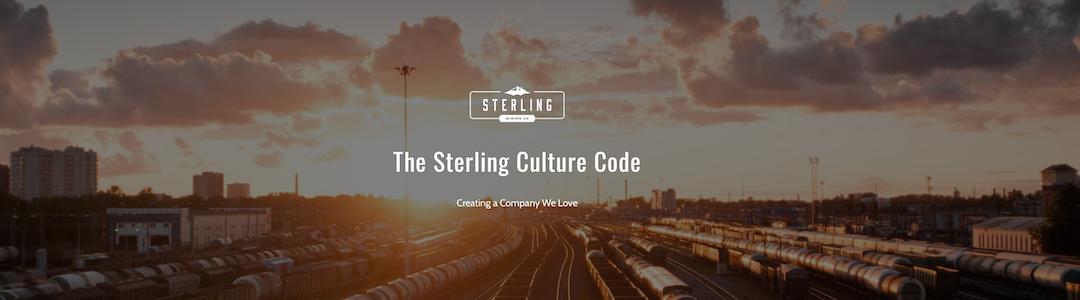 valeurs et mission sterling